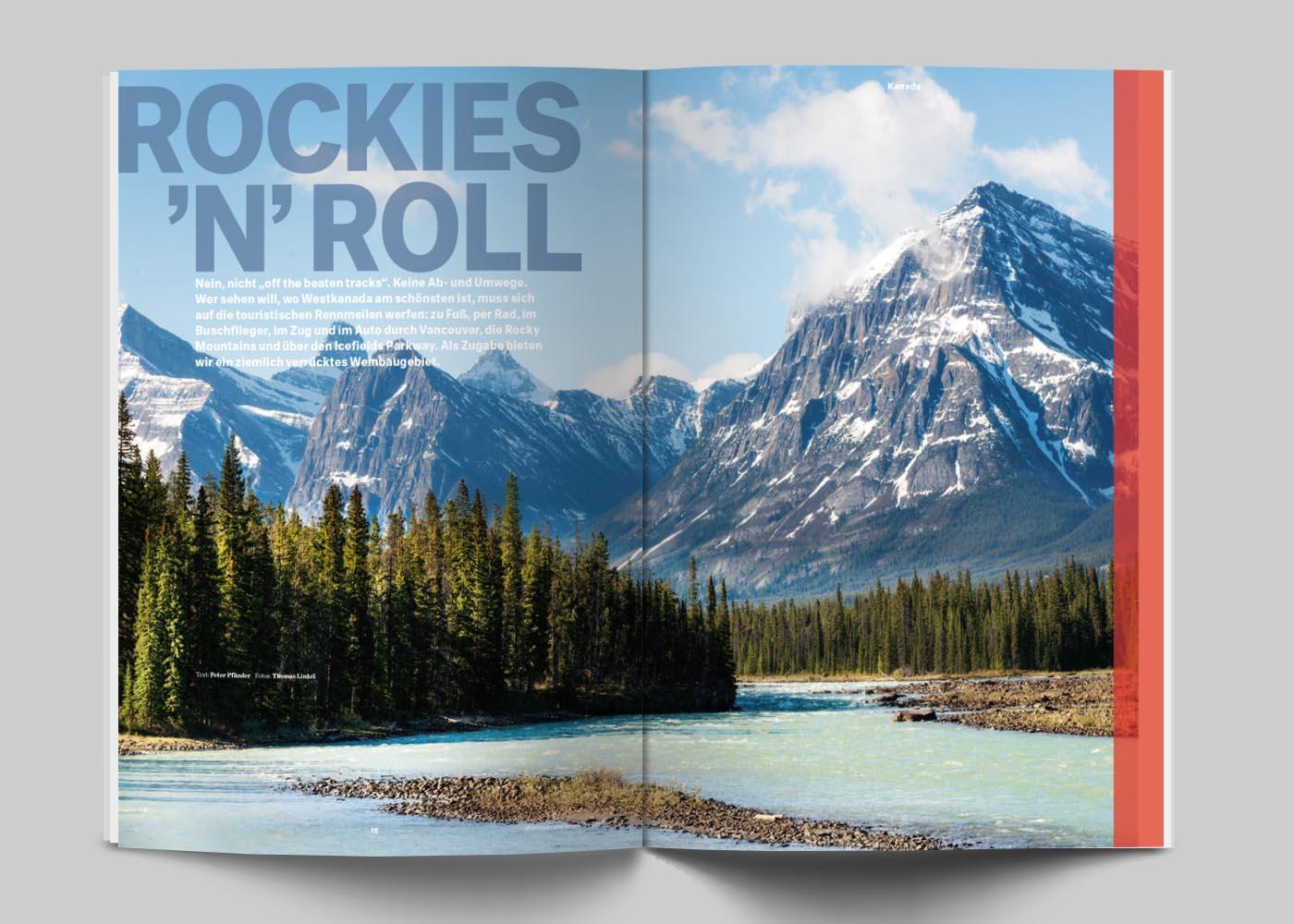 """""""abenteuer und reisen"""" - Rocky Mountains"""