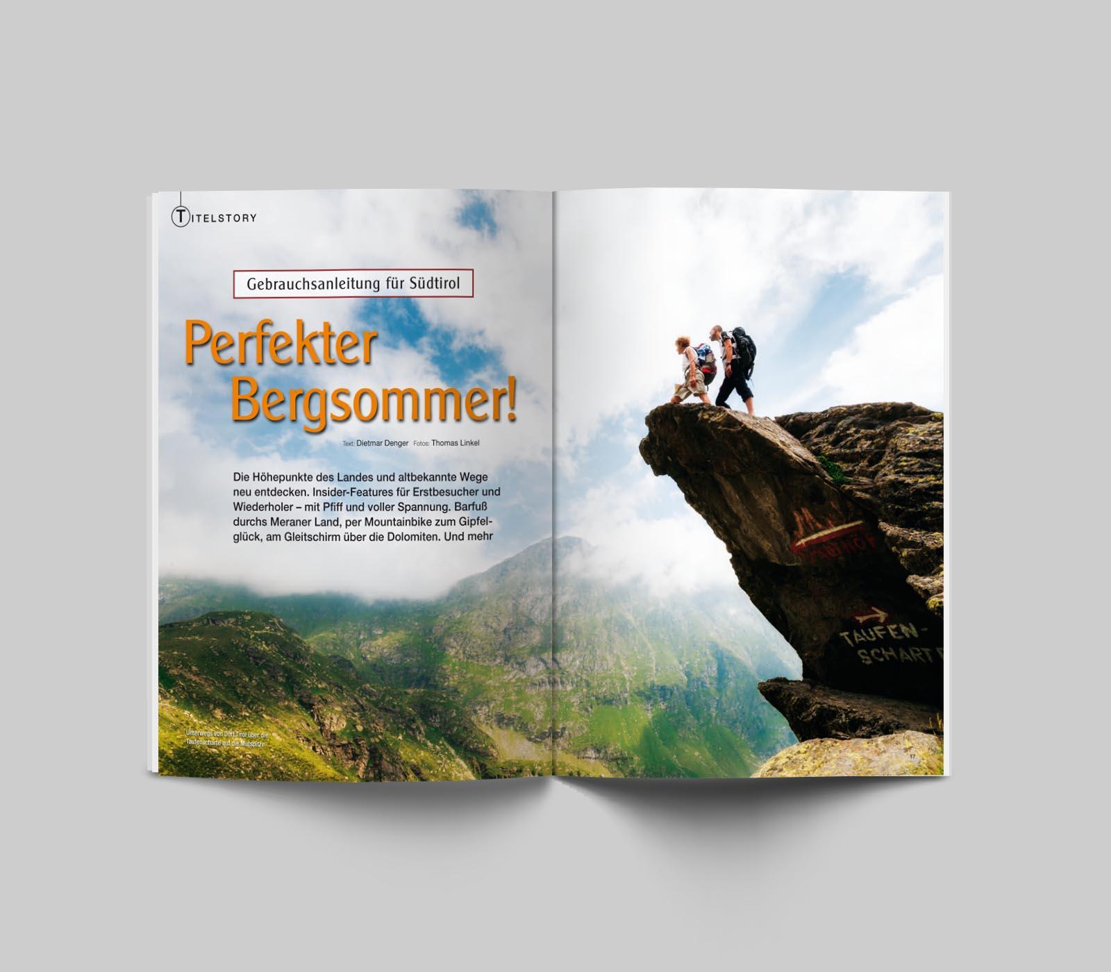 """""""abenteuer und reisen"""" - South Tyrol"""