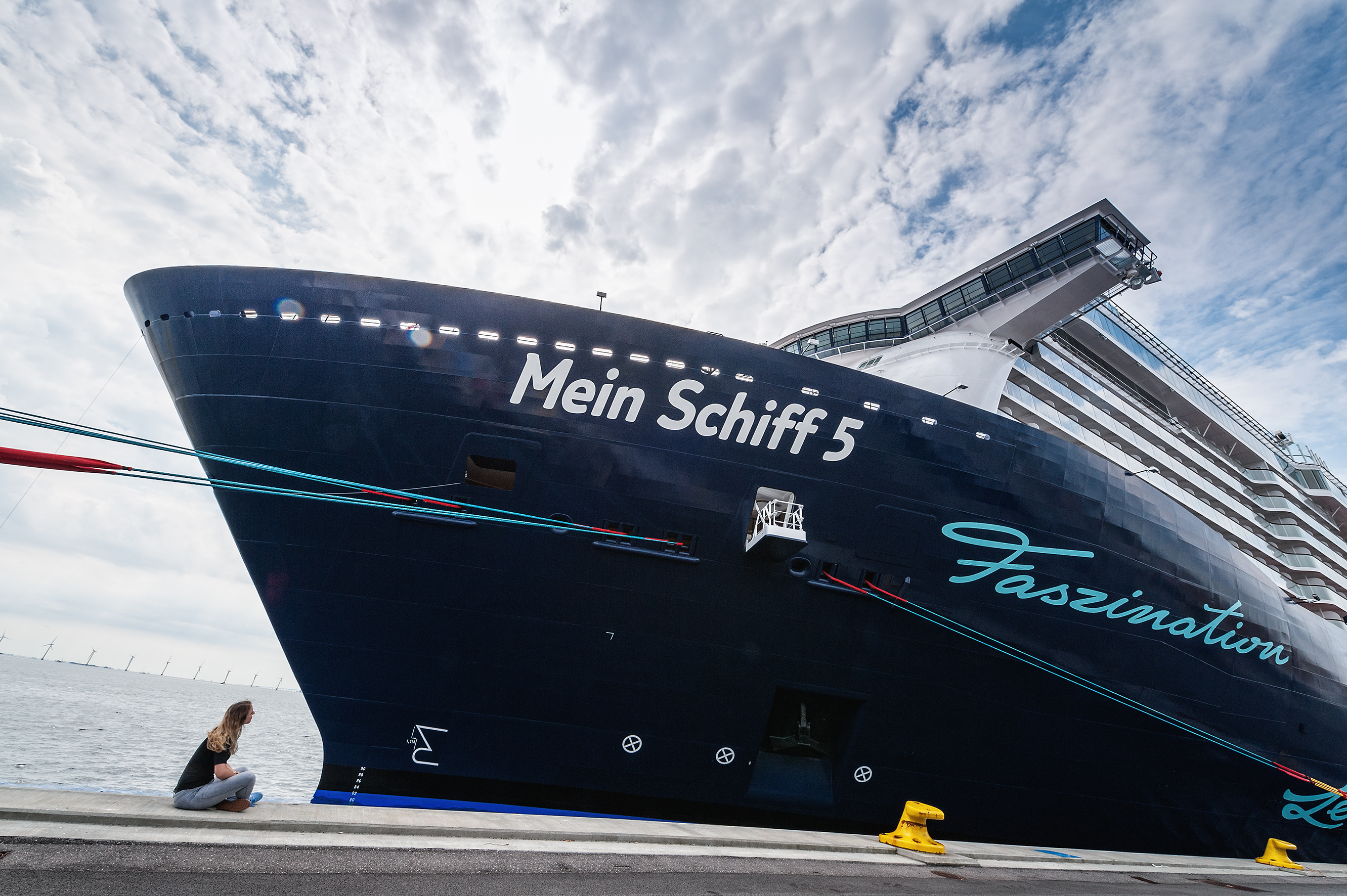 On assignment with TUI Cruiseship MeinSchiff 5