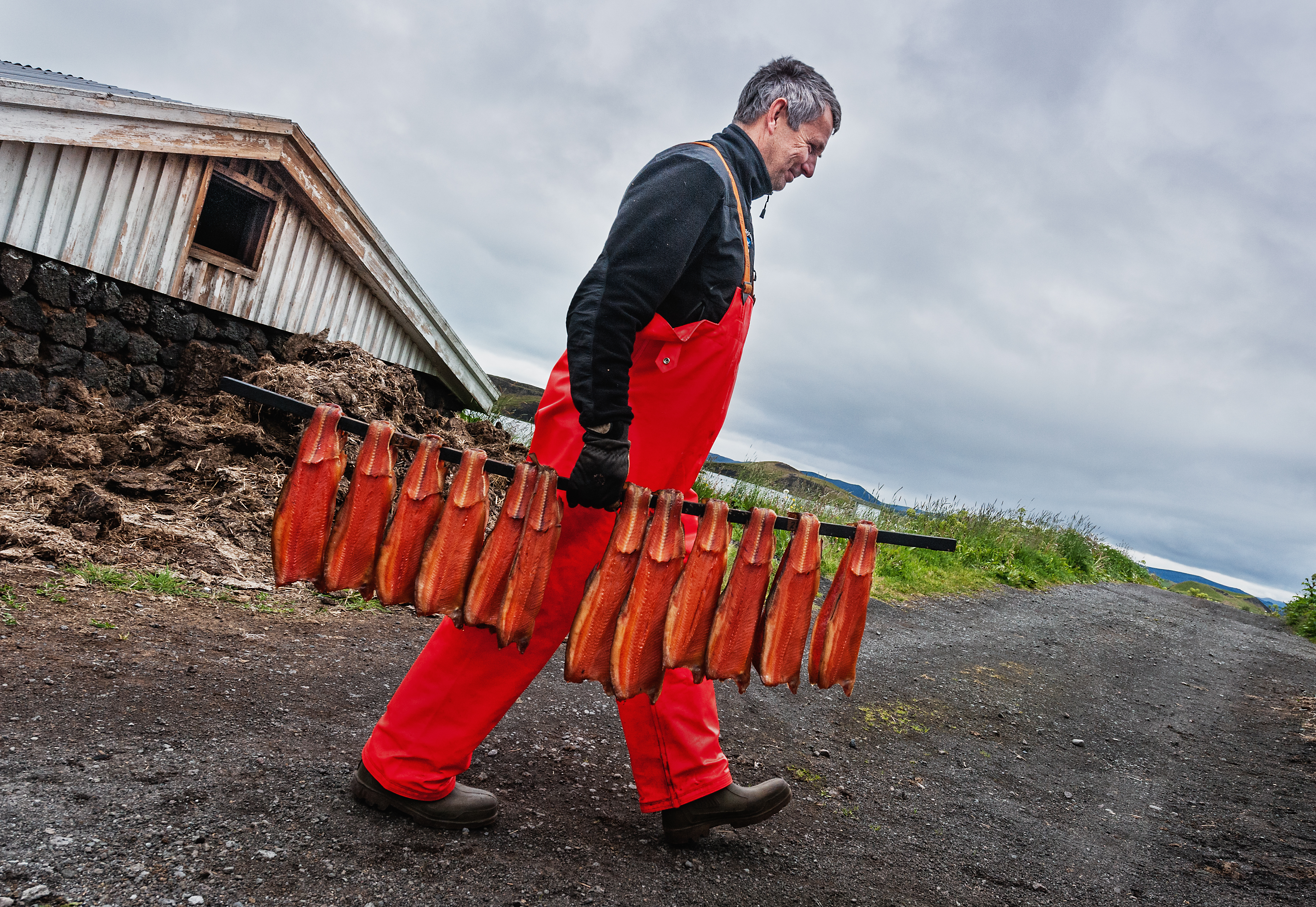 On assignment for Tour Operator Katla Travel in Iceland