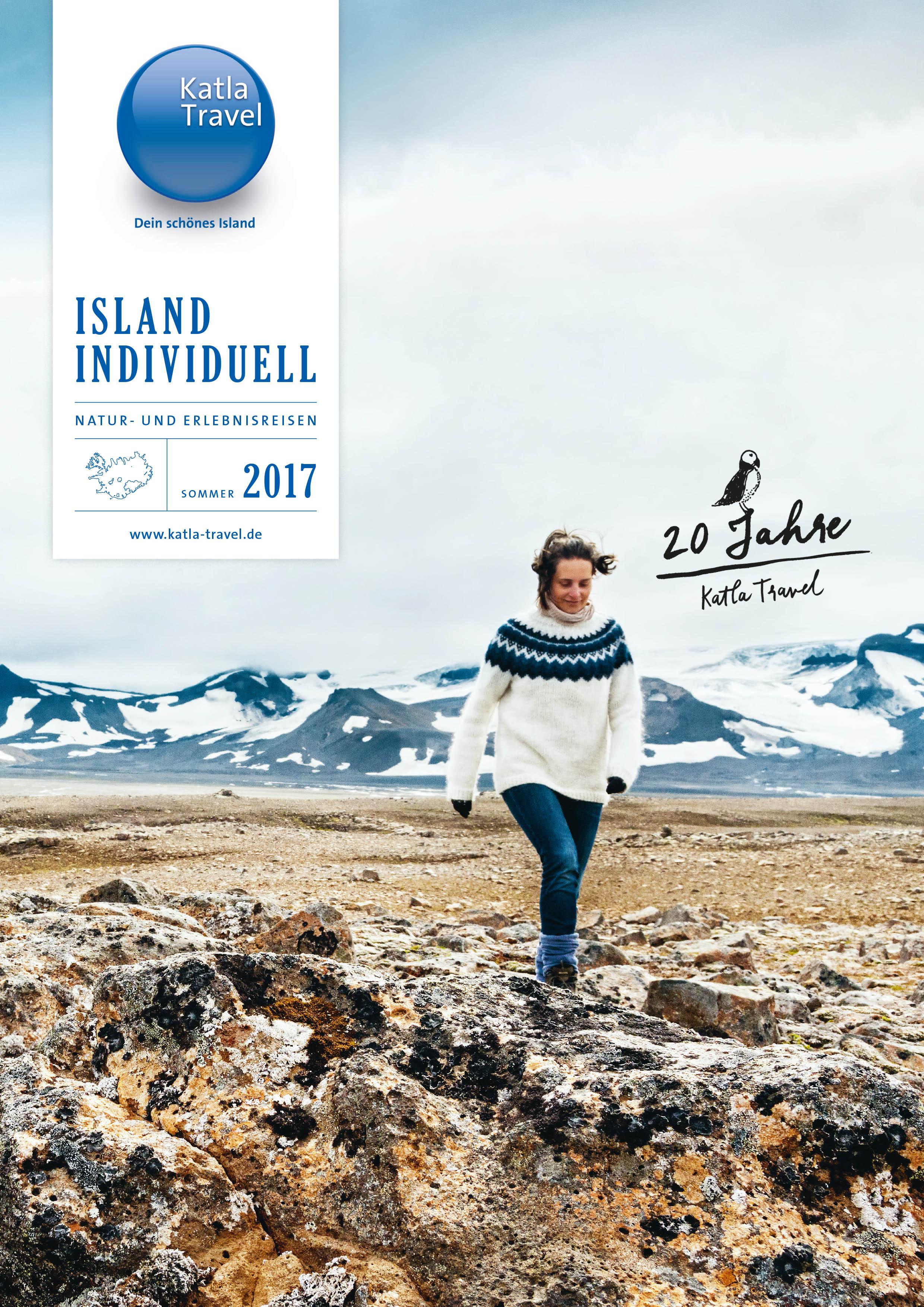 Cover for Katla Travel