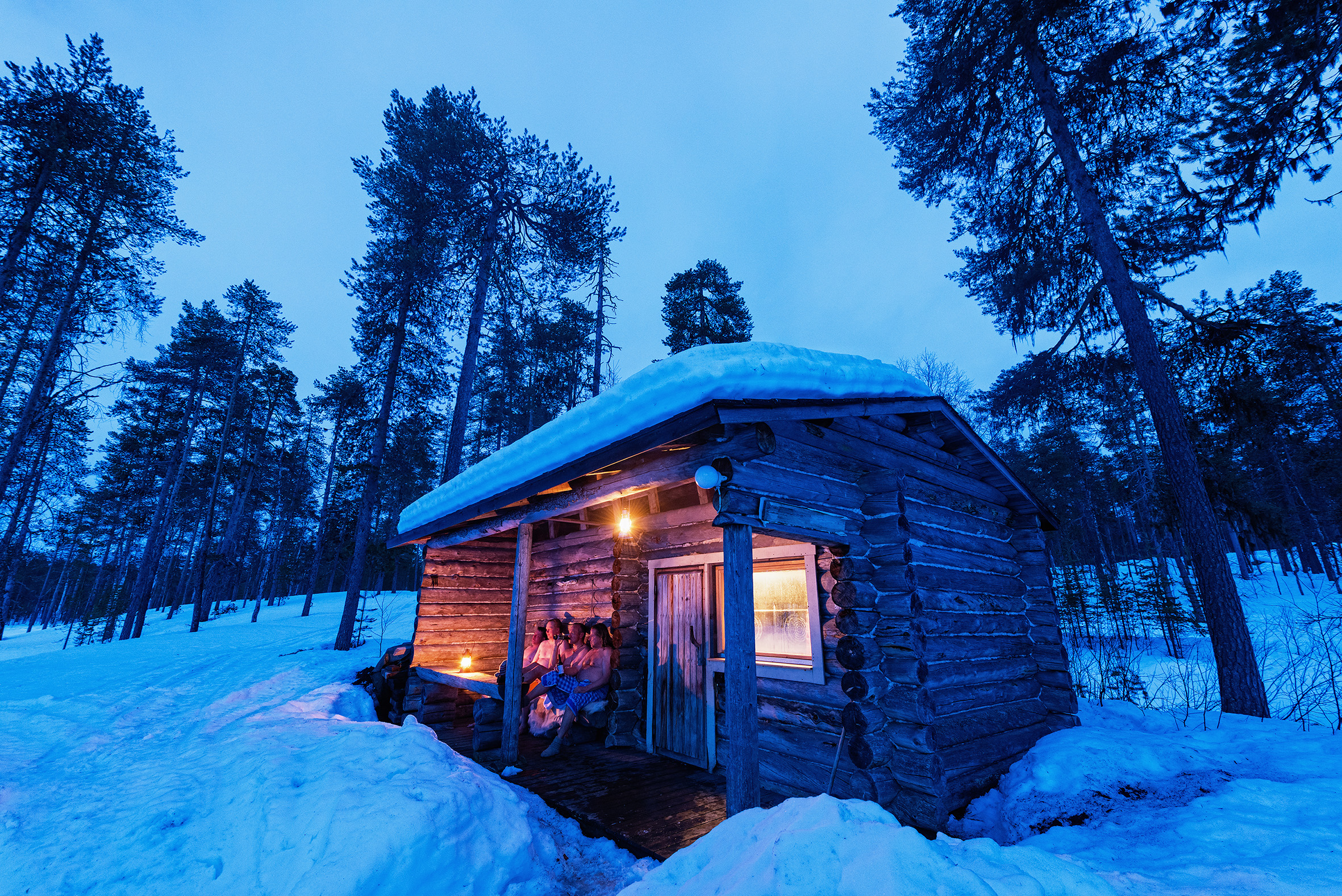 Story: Rauhoitu! Relax the finnish way