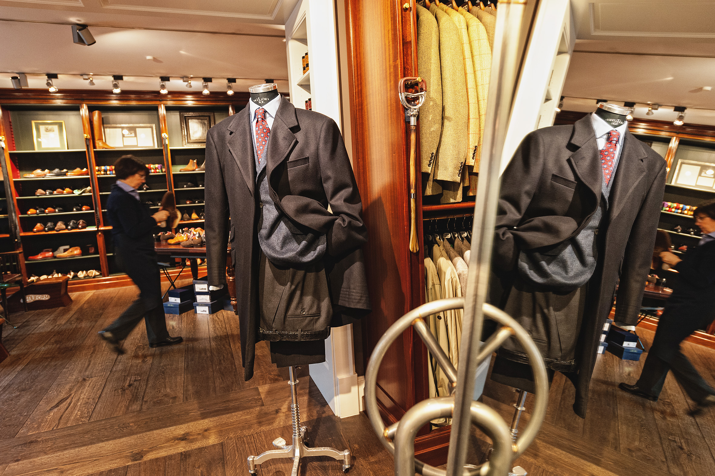 Exclusive shooting at Ed.Meier, long-established clothes shop and shoe manufacture
