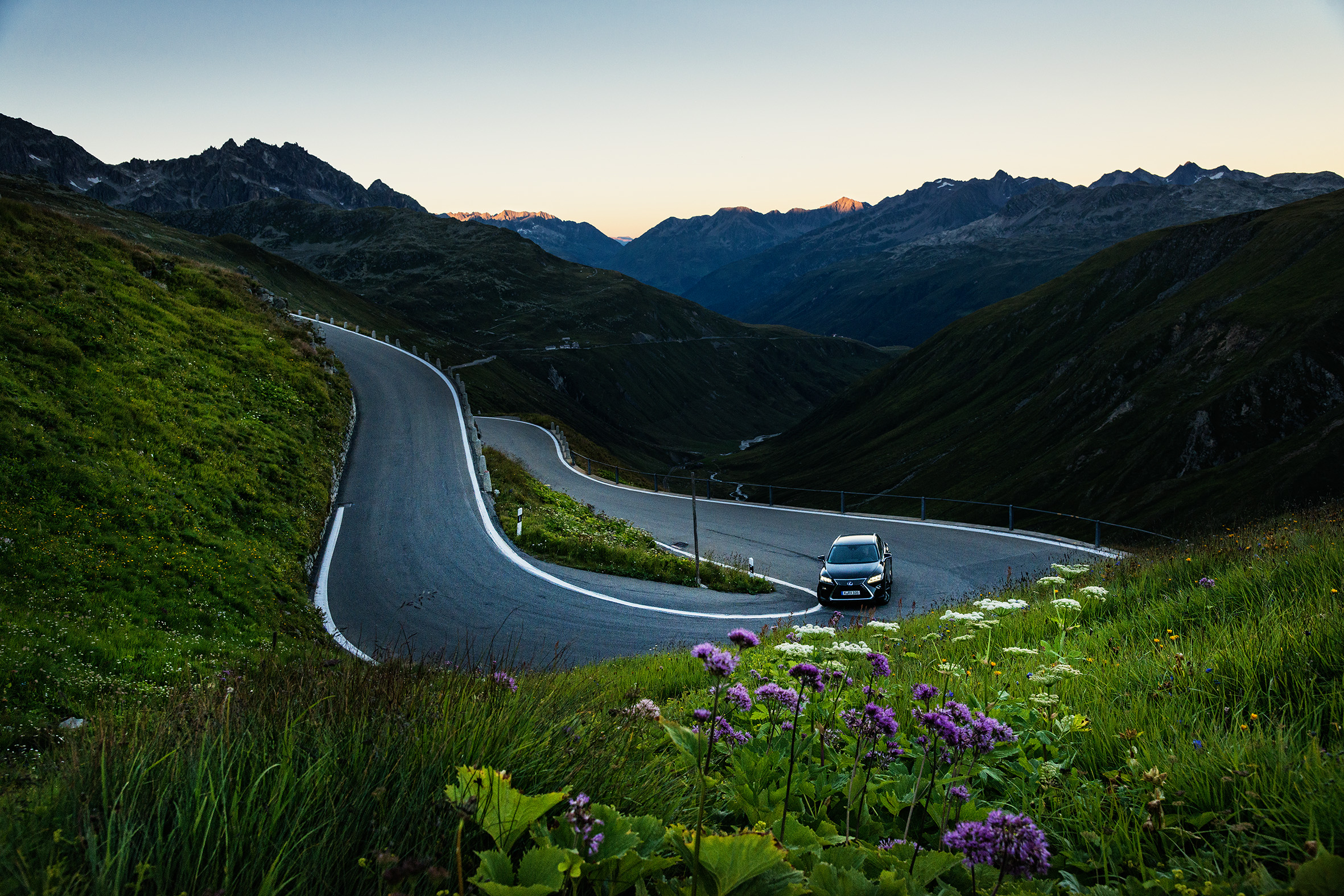 Story: Swiss Alps - Burning Curves