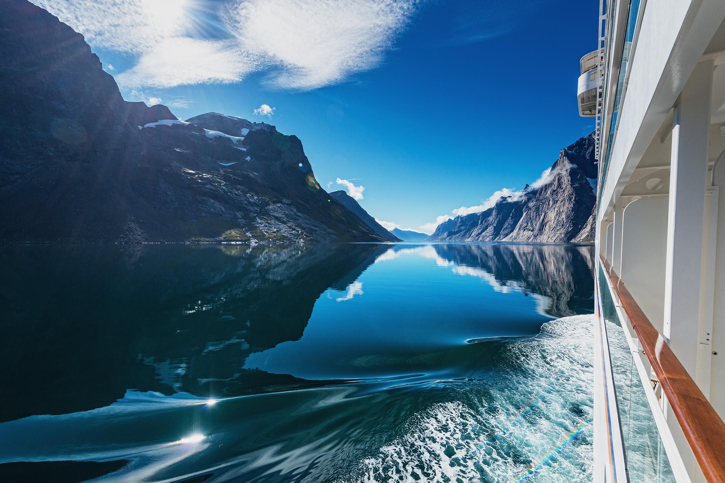 Story: Cruise Ship Europa 2: Luxury on ice