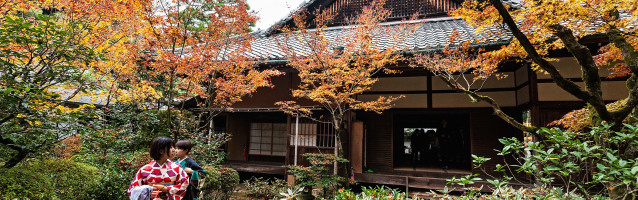Story: Kyoto - Japanese indian Summer