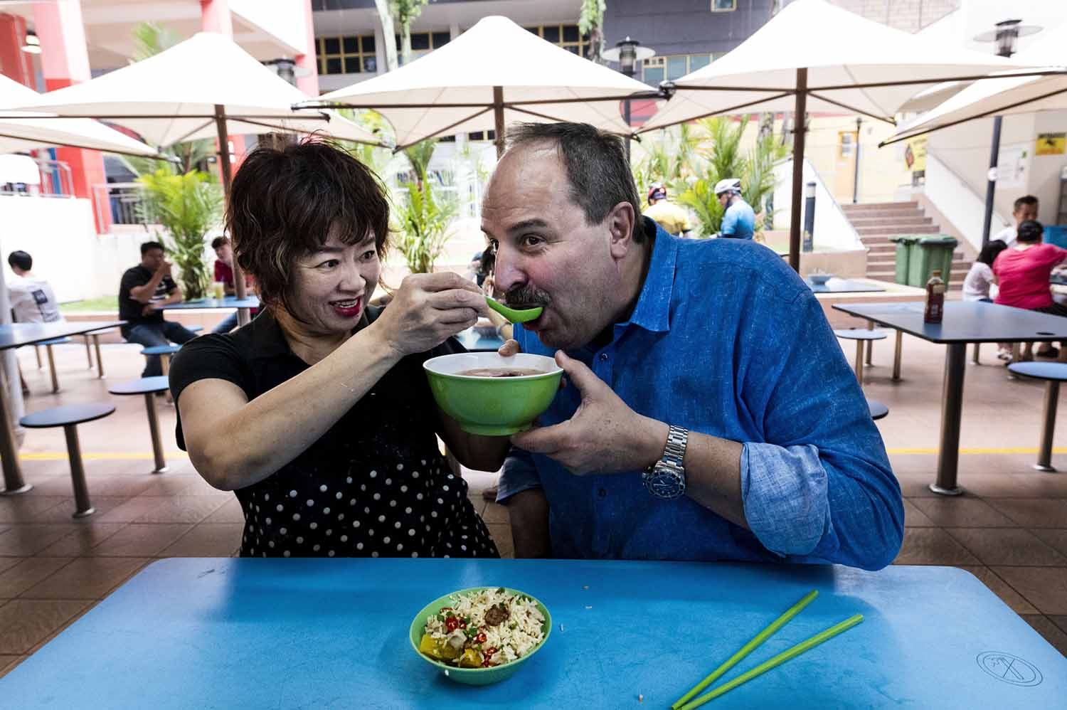 Chef Johann Lafer at Kampong Glam