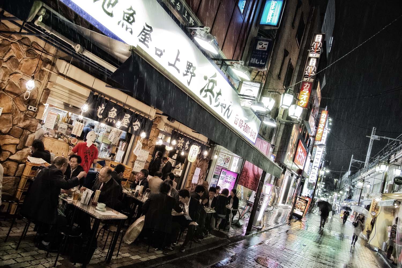 Restaurant in Ueno, Tokio