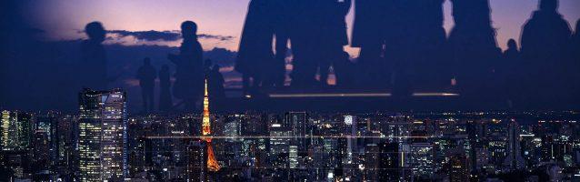 Impressive view from Shibuya Sky