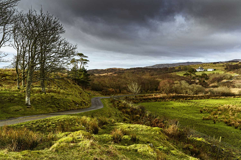 Rugged landscape of Islay