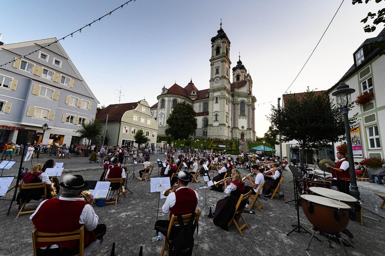 Ottobeuren Marktplatz, Allgäu