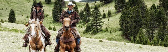 Horseback ride at the Ranch at Rock Creek