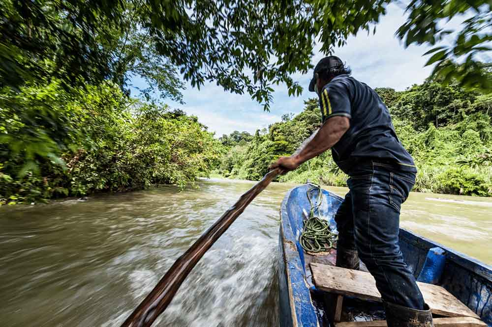 Boat trip to Bribri tribe, Costa Rica