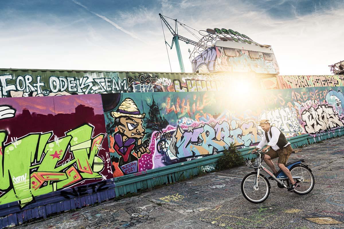 Streetart, Munich, artist Thomas Neumann