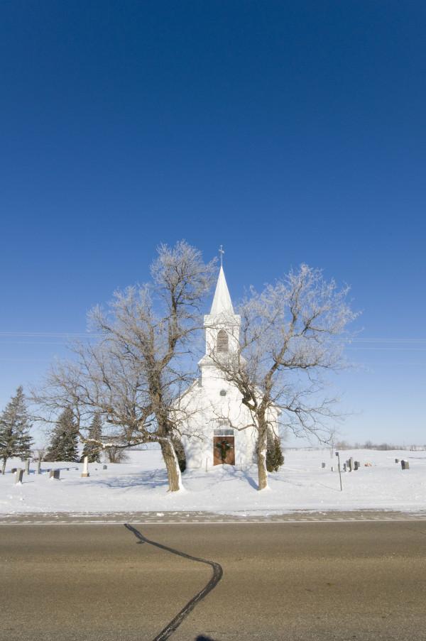 USA, Minnesota, Mormonen, Kirche, Winter, Schnee, 3/2009